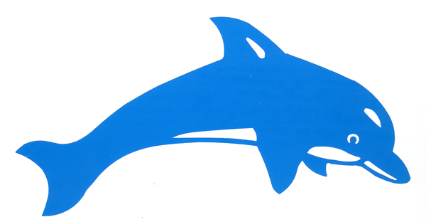Delphin shop folienaufkleber delfin for Bootsaufkleber design